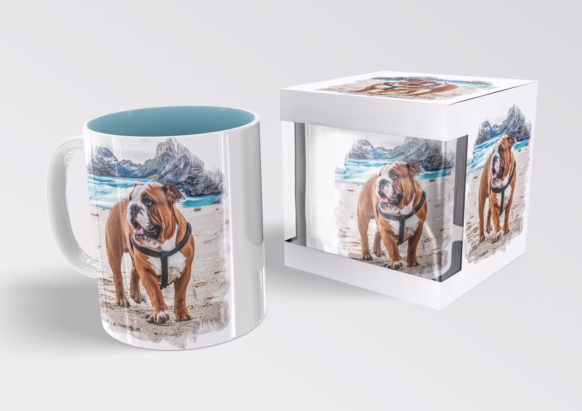 Graphic design for mug print