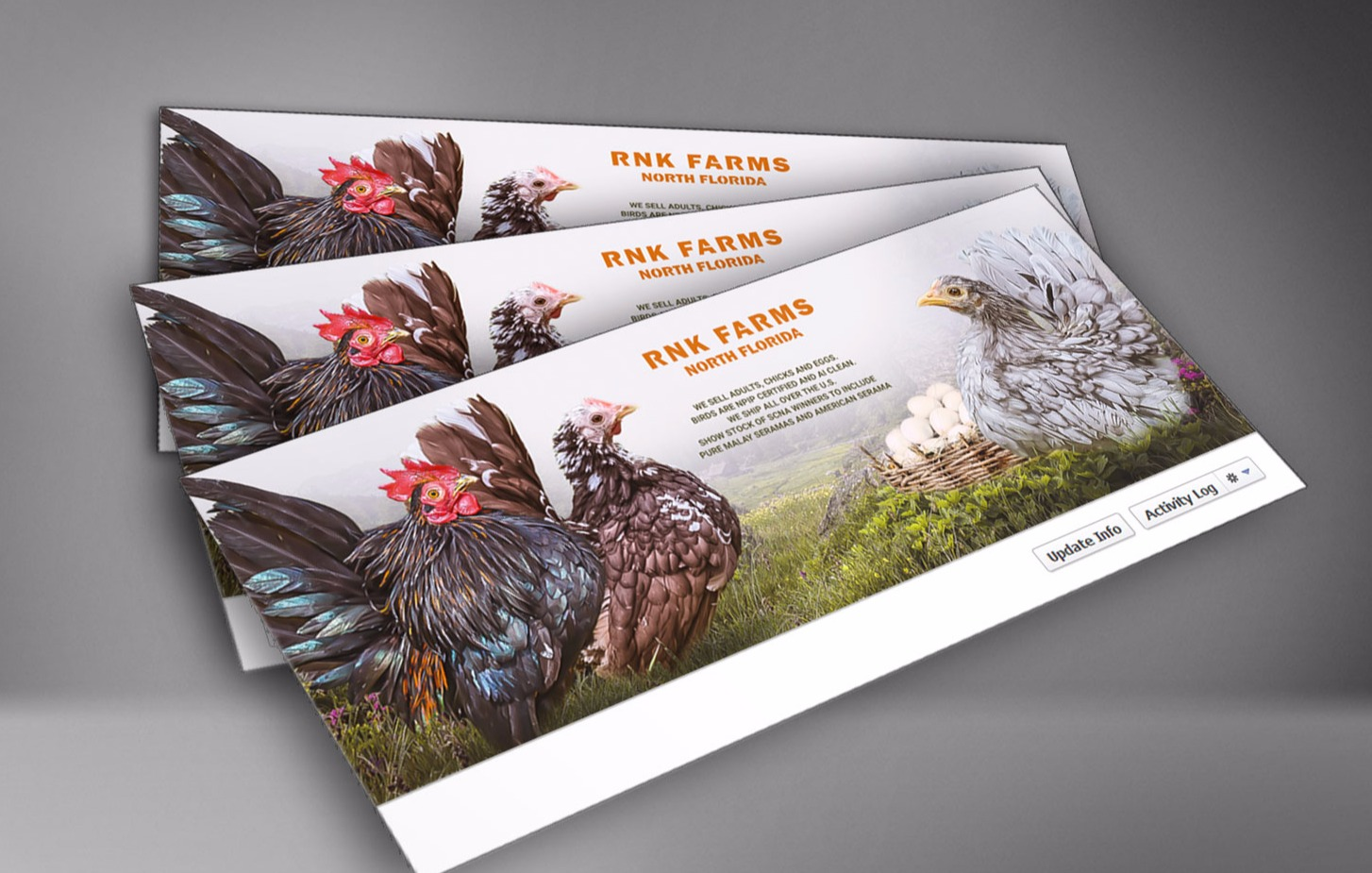 Graphic design for farms and breeders