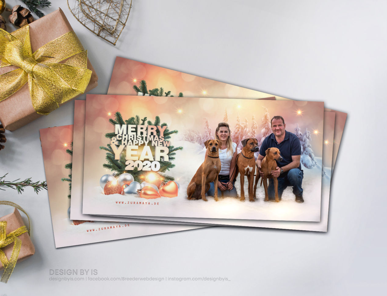 Custom greeting cards for breeders